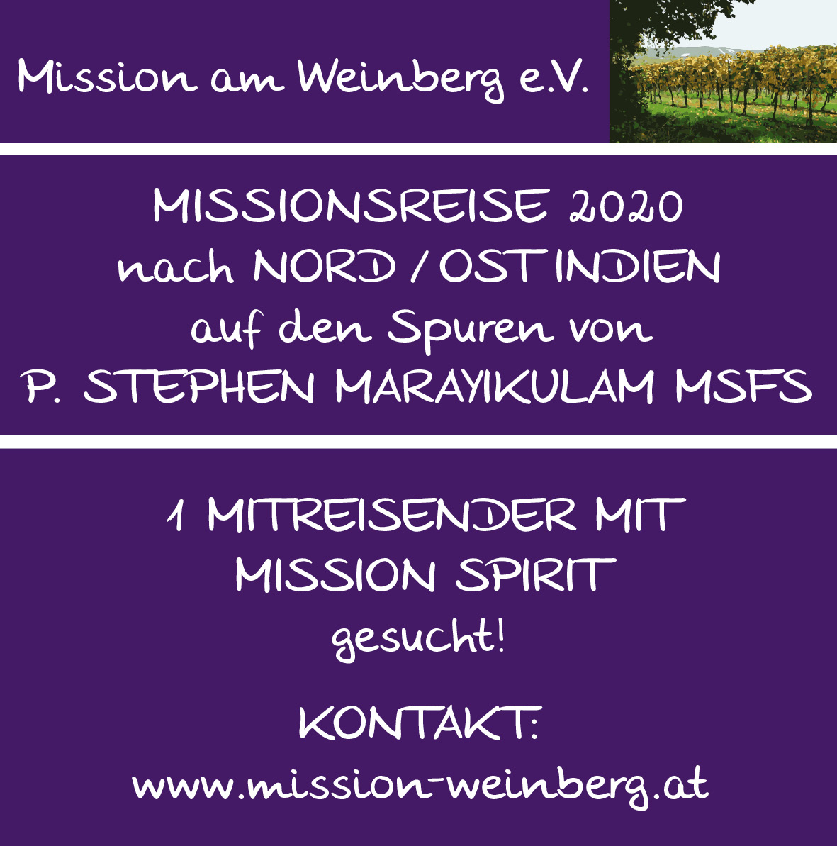 Missionsreise 2020